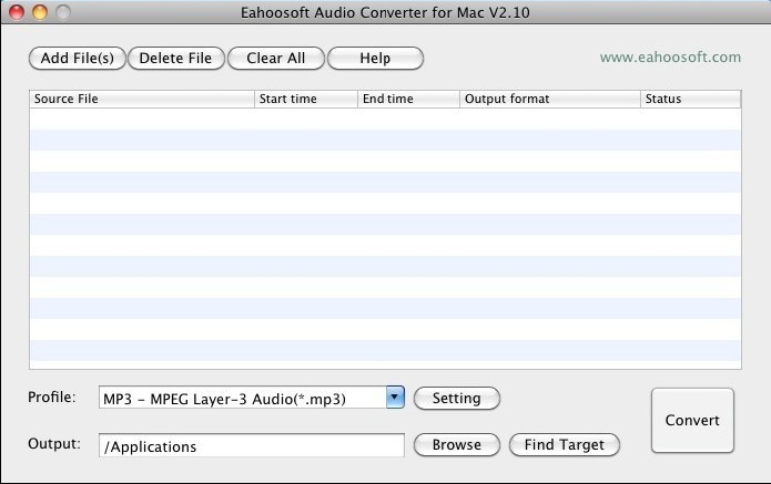 Converters for MP3, WAV, OGG, WMA, M4A, FLAC, and more